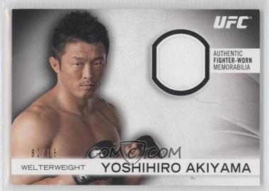2012 Topps UFC Knockout - Fighter-Worn Memorabilia #FG-YA - Yoshihiro Akiyama /88