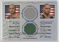 BJ Penn, Travis Browne #/88