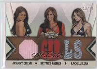 Arianny Celeste, Brittney Palmer, Rachelle Leah /27