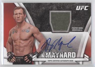 2013 Topps UFC Knockout - Autograph Relics #KAR-GRM - Gray Maynard /399