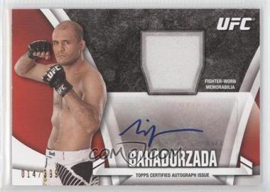 2013 Topps UFC Knockout - Autograph Relics #KAR-SB - Siyar Bahadurzada /399
