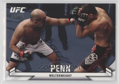 2013 Topps UFC Knockout - [Base] - Blue #8 - B.J. Penn (BJ Penn) /88