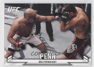 2013 Topps UFC Knockout - [Base] #8 - B.J. Penn (BJ Penn)