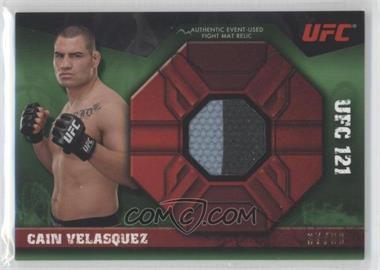 2013 Topps UFC Knockout - Fight Mat Relic - Green #FMR-CV - Cain Velasquez /88