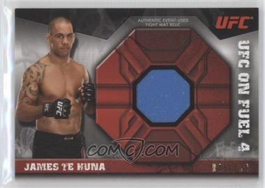 2013 Topps UFC Knockout - Fight Mat Relic #FMR-JT - James Te Huna /188