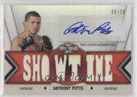 Anthony Pettis ( (Showtime)) #/18