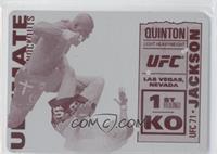 Quinton Jackson vs. Chuck Liddell /1