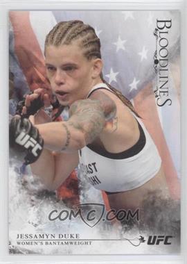 2014 Topps UFC Bloodlines - [Base] - Flag #44 - Jessamyn Duke /148