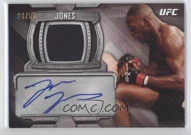 2014 Topps UFC Knockout - Knockout Autographed Relic #KAR-JJ - Jon Jones /50