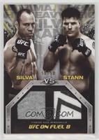 Wanderlei Silva, Brian Stann /50
