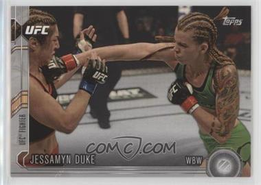 2015 Topps UFC Chronicles - [Base] - Silver #218 - Jessamyn Duke
