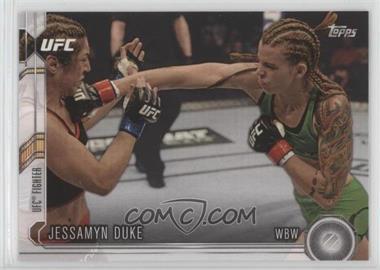 2015 Topps UFC Chronicles - [Base] #218 - Jessamyn Duke