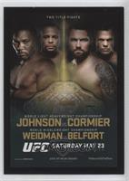 UFC 187 [Noted]