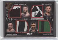 Conor McGregor, Max Holloway, Frankie Edgar, Chad Mendes /50