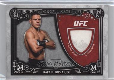 2016 Topps Museum Collection - Meaningful Material Relics #MMR-RD - Rafael dos Anjos /50