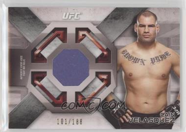 2016 Topps UFC Knockout - Fight Mat Relics #FMR-CV - Cain Velasquez /188