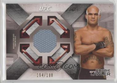 2016 Topps UFC Knockout - Fight Mat Relics #FMR-RL - Robbie Lawler /188
