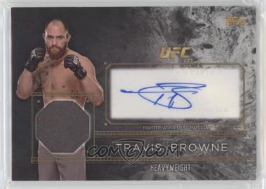 2016 Topps UFC Top of the Class - Autograph Relics #TCAR-TB - Travis Browne