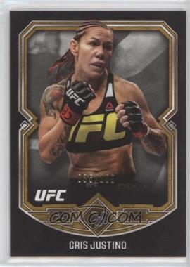 2017 Topps UFC Museum Collection - [Base] - Copper #41 - Cris Justino /109
