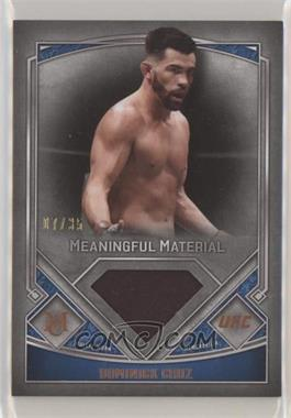 2017 Topps UFC Museum Collection - Meaningful Materials - Copper #MMR-DR - Dominick Cruz /35