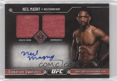 2017 Topps UFC Museum Collection - Signature Swatches Dual #SSADR-NM - Neil Magny /99