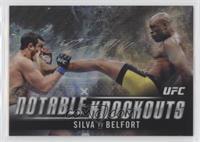 Anderson Silva (Silva vs. Belfort) #/99