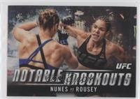 Amanda Nunes (Nunes vs. Rousey)