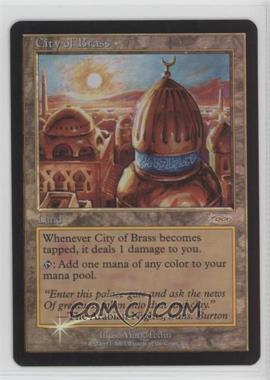 1993-Now Magic: The Gathering - Media Inserts & - Miscellaneous Promos #NoN - City of Brass (DCI Stamp)