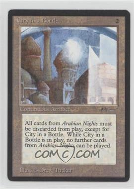 1993 Magic: The Gathering - Arabian Nights - Booster Pack [Base] #CIBO - City in a Bottle