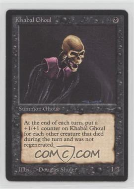 1993 Magic: The Gathering - Arabian Nights - Booster Pack [Base] #KHGH - Khabál Ghoul [Noted]