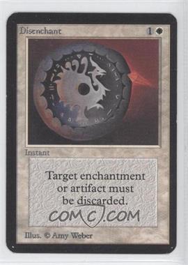 1993 Magic: The Gathering - Core Set: Alpha - Booster Pack [Base] #NoN - Disenchant