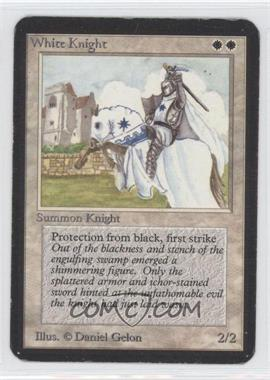 1993 Magic: The Gathering - Core Set: Alpha - Booster Pack [Base] #WHKN - White Knight