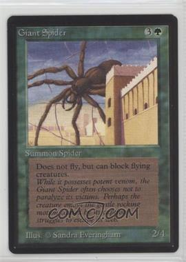 1993 Magic: The Gathering - Core Set: Beta - Booster Pack [Base] #GISP - Giant Spider