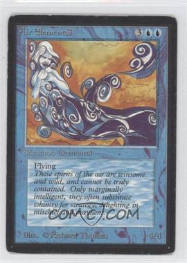 1993 Magic: The Gathering - Core Set: Beta - Booster Pack [Base] #NoN - Air Elemental