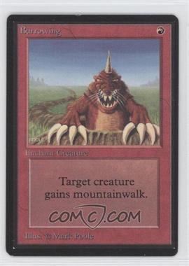 1993 Magic: The Gathering - Core Set: Beta - Booster Pack [Base] #NoN - Burrowing