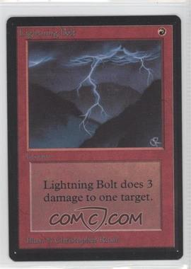1993 Magic: The Gathering - Core Set: Beta - Booster Pack [Base] #NoN - Lightning Bolt