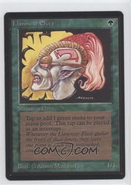 1993 Magic: The Gathering - Core Set: Beta - Booster Pack [Base] #NoN - Llanowar Elves