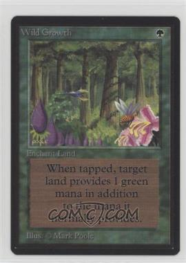 1993 Magic: The Gathering - Core Set: Beta - Booster Pack [Base] #WIGR - Wild Growth
