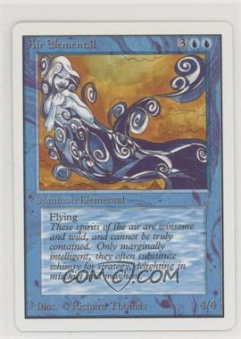 1993 Magic: The Gathering - Core Set: Unlimited - Booster Pack [Base] #AIEL - Air Elemental