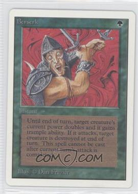 1993 Magic: The Gathering - Core Set: Unlimited - Booster Pack [Base] #NoN - Berserk
