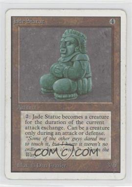 1993 Magic: The Gathering - Core Set: Unlimited - Booster Pack [Base] #NoN - Jade Statue
