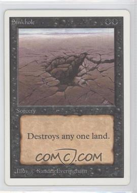 1993 Magic: The Gathering - Core Set: Unlimited - Booster Pack [Base] #NoN - Sinkhole