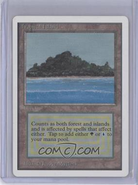 1993 Magic: The Gathering - Core Set: Unlimited - Booster Pack [Base] #NoN - Tropical Island R :L: