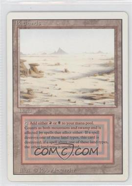 1994 Magic: The Gathering - Core Set: Revised - Booster Pack [Base] #NoN - Badlands R :L:
