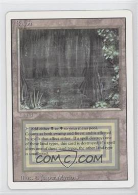 1994 Magic: The Gathering - Core Set: Revised - Booster Pack [Base] #NoN - Bayou R :L: