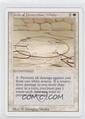 1994 Magic: The Gathering - Core Set: Revised - Booster Pack [Base] #NoN - Circle of Protection: White