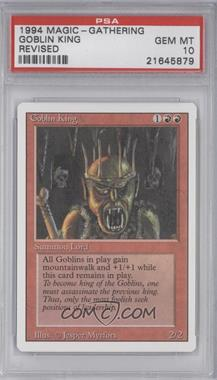 1994 Magic: The Gathering - Core Set: Revised - Booster Pack [Base] #NoN - Goblin King [PSA 10]