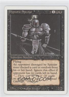 1994 Magic: The Gathering - Core Set: Revised - Booster Pack [Base] #NoN - Hypnotic Specter