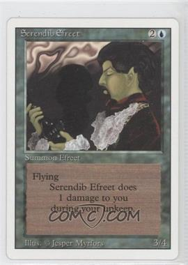 1994 Magic: The Gathering - Core Set: Revised - Booster Pack [Base] #NoN - Serendib Efreet