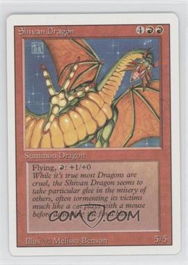 1994 Magic: The Gathering - Core Set: Revised - Booster Pack [Base] #NoN - Shivan Dragon